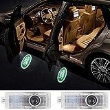 Car Door LED Logo HD Projector Lights Welcome Light for Land Rover Accessories Range Rover LR2 LR3 LR4 Land Rover Evoque Freelander 2-pack