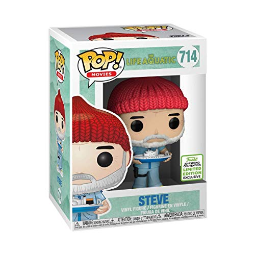 Funko The Life Aquatic - Steve Zissou POP Movies 2019 Spring Convention Limited Edition Exclusive