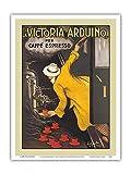 La Victoria Arduino - Coffee Maker - Caffé Espresso - Vintage Advertising Poster by Leonetto Cappiello c.1890 - Master Art Print 9in x 12in