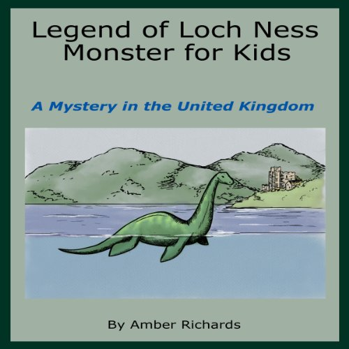 Legend of Loch Ness Monster for Kids cover art