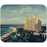 Alfombrilla De Ratón para Juegos Atlantis Bahamas Island Tropical Vacation Hotel Rectángulo Personalizado Alfombrilla De Ratón Alfombrilla De Ratón para Juegos