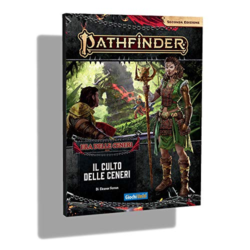 Giochi Uniti- Pathfinder 2-Il Culto delle Ceneri #2 Gioco Avventura, Colore Illustrato, GU3604