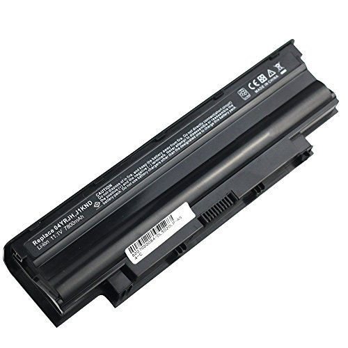 Bay Valley PartsNew Laptop Battery J1KND for Dell Inspiron 3420 3520 15r 17r 14r 13r N5110 N5010 N4110 N4010 N7110 N3010 M5110 M4110 Li-ion 9 Cell 11.1v 7800mAh/87WH