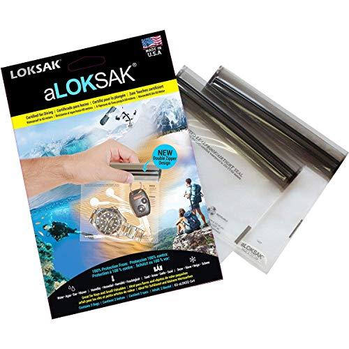 ALOKSAK BAGS Interior Dimensions 12Ã'Â x 10.2Ã'Â cm Watch Storage Box Key Waterproof Up to 60Ã'Â m by Loksak