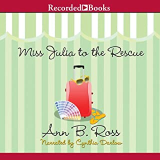 Miss Julia to the Rescue audiobook cover art