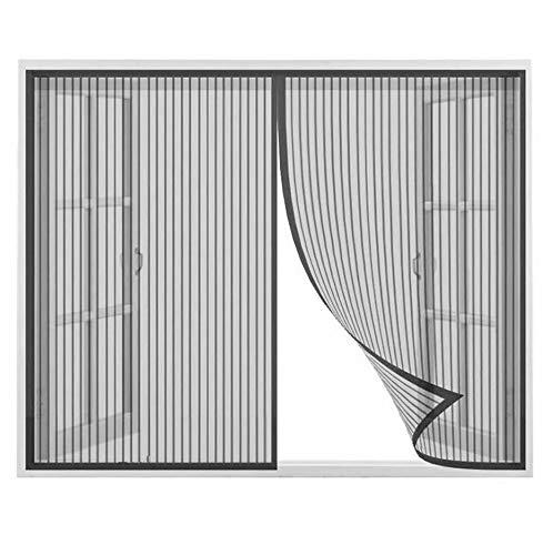 Cortinas mosquiteras para Puertas 120x230cm, Cortina Mosquitera para Puertas, Cerrado automáticamente Plegable...