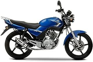 2005//16/Anlage komplett zugelassen Serie der EVO Poppy GPR Auspuff f/ür Yamaha YBR 125/I.E