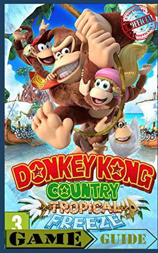 Donkey Kong Country Tropical Freeze - Guide / Walkthrough Handbook - Nintendo Switch (Illistrated) (Unofficial): Nintendo Switch Black & White Edition Handbook