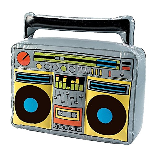 Goods & Gadgets   Boombox gonfiabile con radio e hip hop