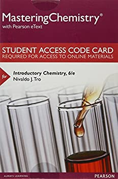 Printed Access Code Mastering Chemistry with Pearson Etext -- Standalone Access Card -- For Introductory Chemistry Book