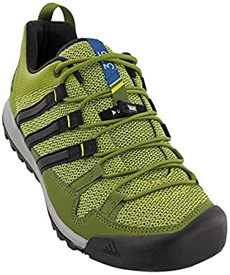 adidas Men's Sport Performance Terrex Solo Hiking Sneakers, Green Textile, Rubber, 8.5 M