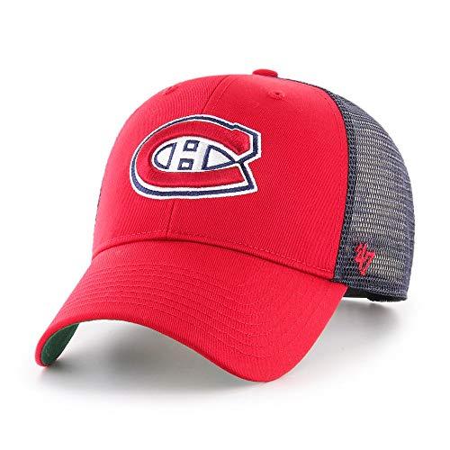 '47 Gorra Trucker NHL Branson MVP Montreal Canadiens Brand - Rojo -...
