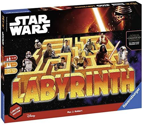 Ravensburger - 82338 - Jeu de Société - Labyrinthe Star Wars Edition française Limitée