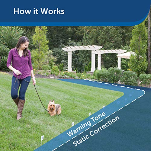 PetSafe Stubborn Dog In-Ground Fence - from The Parent Company of Invisible Fence Brand - Multiple Wire Gauge Options