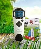 ThermaCell Sorglos Paket 60 Stunden Mückenschutz im Set Handgerät weiß mit Kippschalter MR-WJ und...