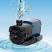 ソース水の水槽の水槽水中ポンプ水のろ過ポンプ流量調節水耕庭園の池,セリエJTP,2800L