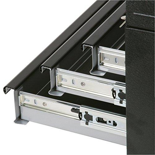 KS Tools 801.0003 Werkzeugtruhe mit 3 Schubladen-schwarz, L508xH255xB303mm - 3