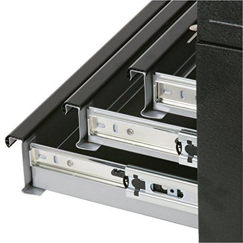 KS Tools 801.0003 Werkzeugtruhe mit 3 Schubladen-schwarz, L508xH255xB303mm - 2