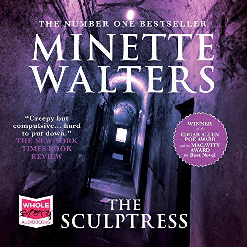 The Sculptress audiobook cover art