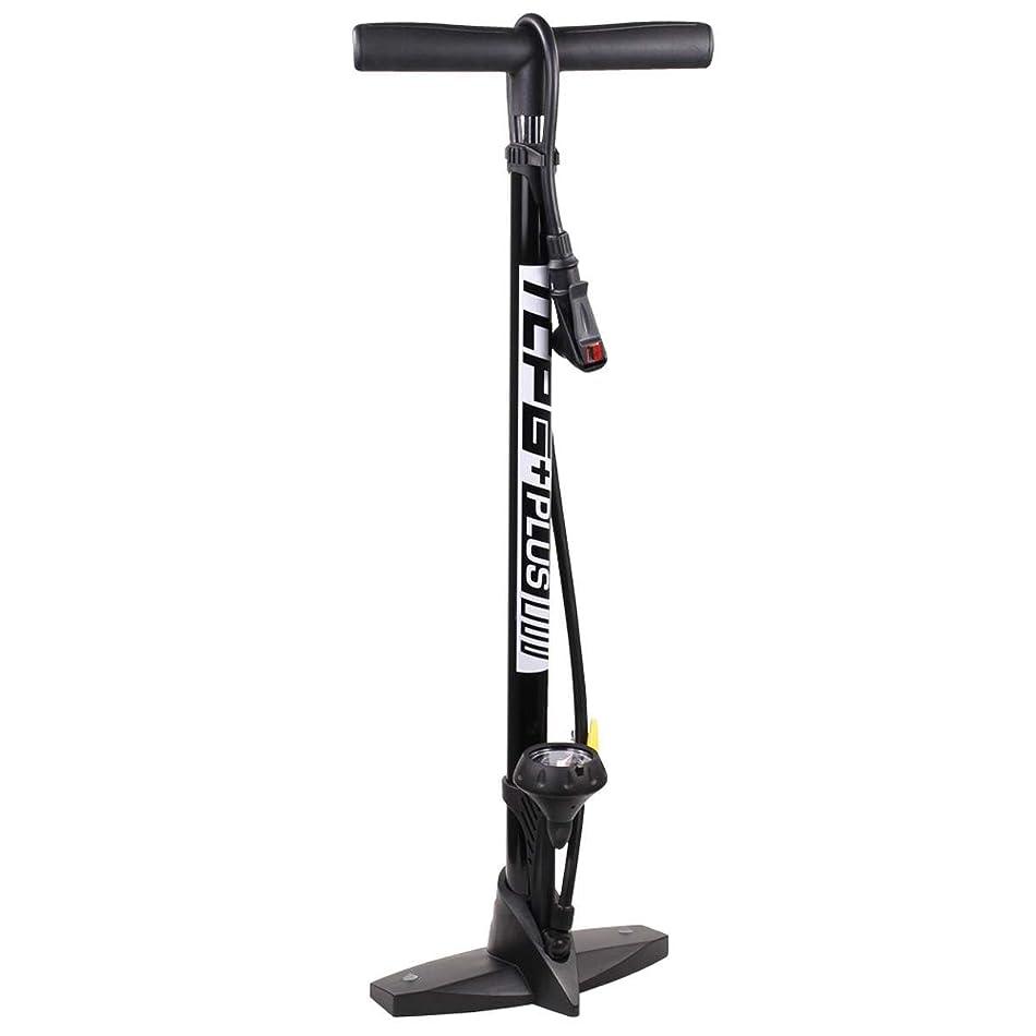 荷物弁護ランチSerfasサーモCarbon Plus自転車フロアポンプW/ゲージ?–?ブラック?–?tcpg-plusbk