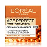 L'Oréal Paris Age Perfect Nutrition Supreme Crema Viso Riparatore Giorno - 50 ml...
