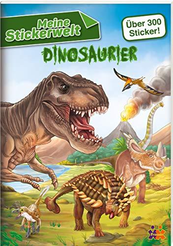 Meine Stickerwelt. Dinosaurier