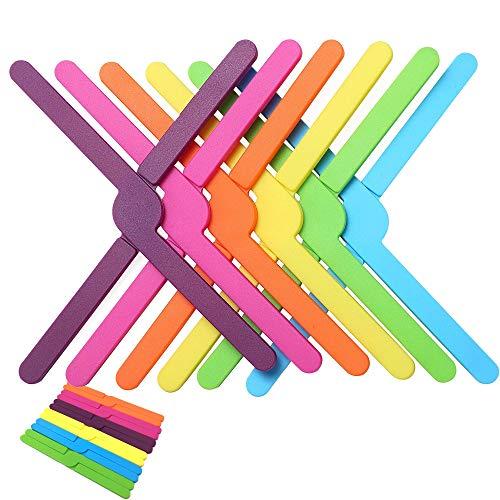 Salvamanteles de silicona, juego de 6, almohadillas resistentes al calor, soporte de silicona pequeño antideslizante,...