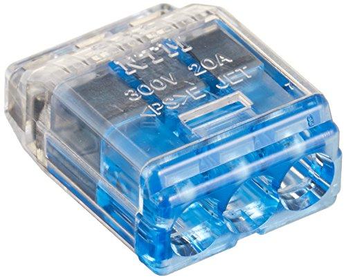 ニチフ端子工業 ニチフ 差込形コネクタ クイックロック 50個入 QLX3-BCL 極数:3