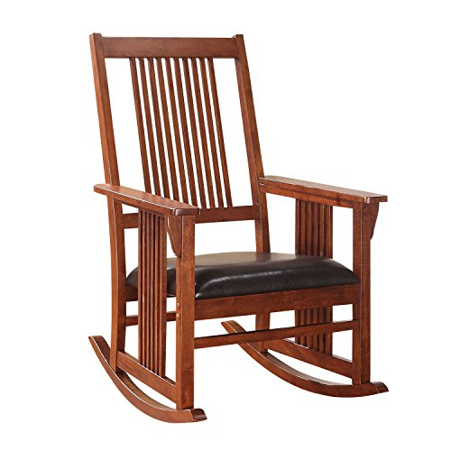 ACME Furniture Kloris Rocking Chair, Tobacco