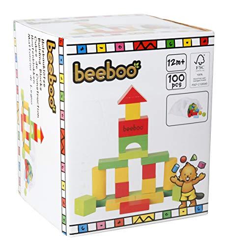 VEDES Großhandel GmbH - Ware BEEBOO Multicolores de Frein 100 pièces de Construction