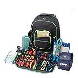 Sac à dos à outils Oxford 600D, sac à outils multipoches, sac à outils, rangement parfait et...