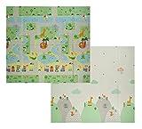 VeloVendo® - Tappeto da Gioco per Bambini XPE Pieghevole (XPE Animali)...