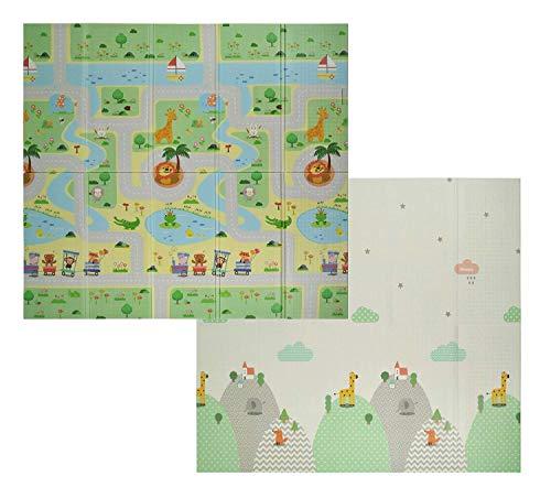 VeloVendo® - Tappeto da Gioco per Bambini XPE Pieghevole (XPE Animali)