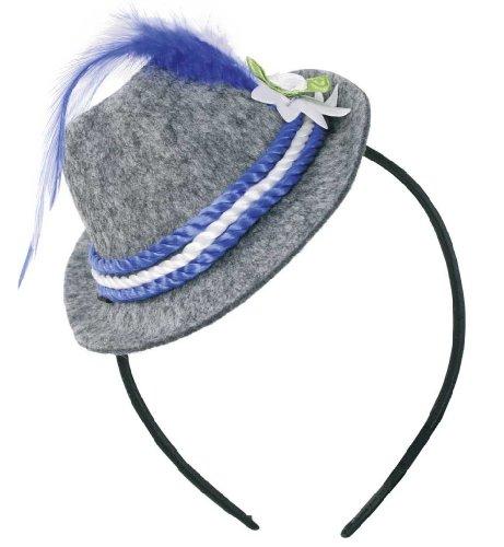 Serre-tête pour déguisement 57005 bavaria mini chapeau de chapeau de costume neuf/emballage d'origine