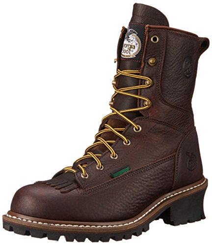 Georgia Boot Men's Georgia 8' Logger Boot Work Shoe