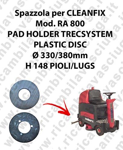PAD HOLDER TRECSYSTEM voor CLEANFIX model RA 800