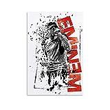 Hip Hop Rapper Eminem Poster, dekoratives Gemälde,