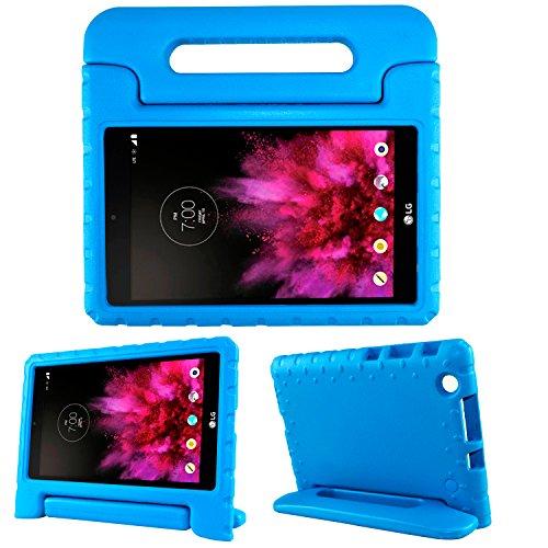 LG G Pad X 8.0Kinder case-simpleway Tragegriff Kind Ständer Halter EVA-Schaum stoßfest Schutzhülle für LG G Pad X 20,3cm v-520/v-521Tablet, blau, for LG G Pad X 8.0 Inch