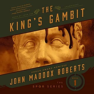 The King's Gambit audiobook cover art