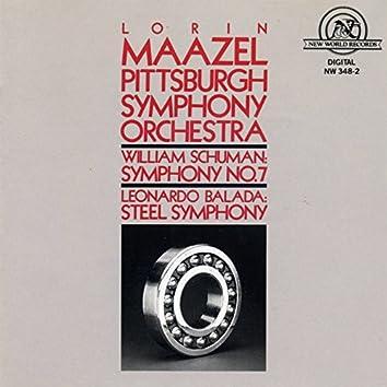 Schuman: Symphony #7/Balada: Steel Symphony