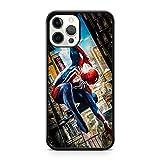 Générique Spiderman Marvel BD Livre Superhéros Avengers Héros Étui de Téléphone - Noir, Apple iPhone SE (2020)