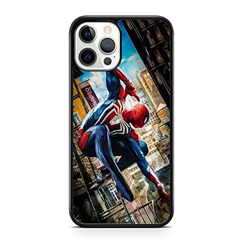 Générique Spiderman Marvel BD Livre Superhéros Avengers Héros Étui de Téléphone - Noir, Sony Xperia XA1