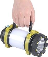 BAJIE Zaklamp Draagbare Led Camping Lantaarn Usb Oplaadbaar 3000Mah Power Bank Super Helder Zaklamp Dimbaar Spotlight Zoek...