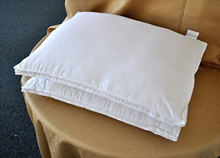 featured product Natural Comfort White Microfiber Down Alternative Gel Like Pillow with Embossed Covering,  Small,  Set of 2