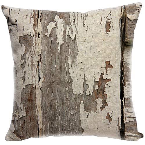 YISUMEI Kissenbezug 80x80 cm Home Decor Sofa Werfen Kissenbezüge Pillowcases Gesprenkelte Holz Textur In Old Fashion Style