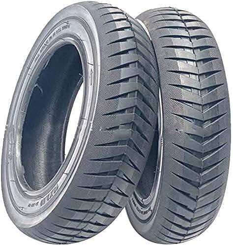 Neumáticos para patinetes eléctricos Neumáticos para patinetes,neumáticos Interiores y Exteriores Antideslizantes 10x2,50,ensanchados,Resistentes al Desgaste y estables,adecuados para neumáticos eléc