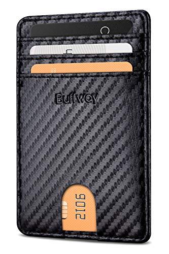 Image of Buffway Mens Slim Wallet,...: Bestviewsreviews