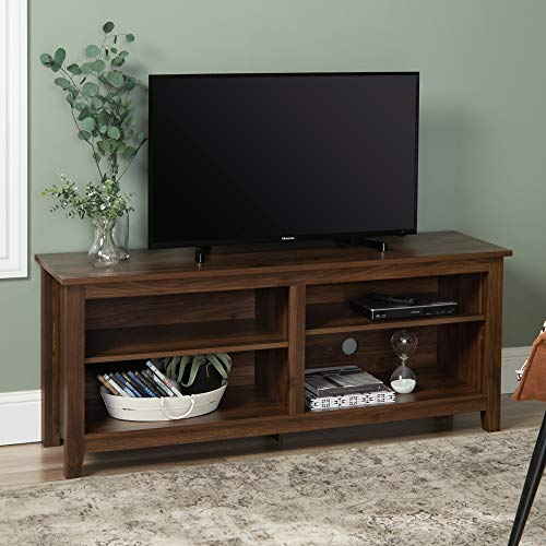 Walker Edison Wren Classic 4 Cubby TV Stand  Only $105.14!