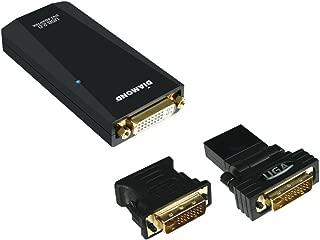 DIAMOND BVU195 USB 2.0 External Video Display Adapter - ONE YEAR Warranty