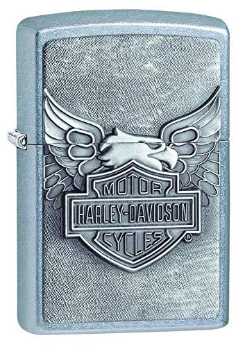 Zippo Zippo-Feuerzeug, Motiv Harley-Davidson Street Chrome